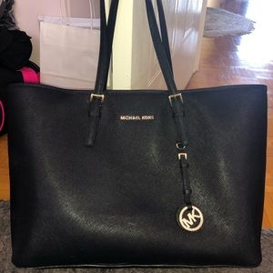 Michael Kors large tote bag in Black